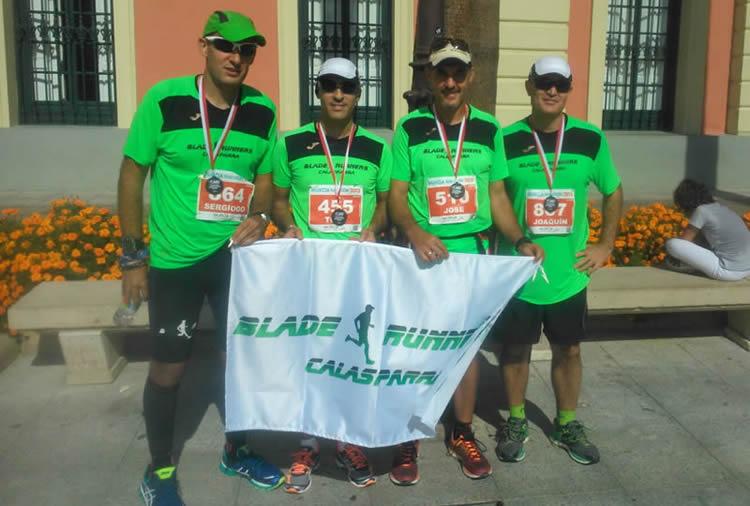 Blades En La III Maratón De Murcia