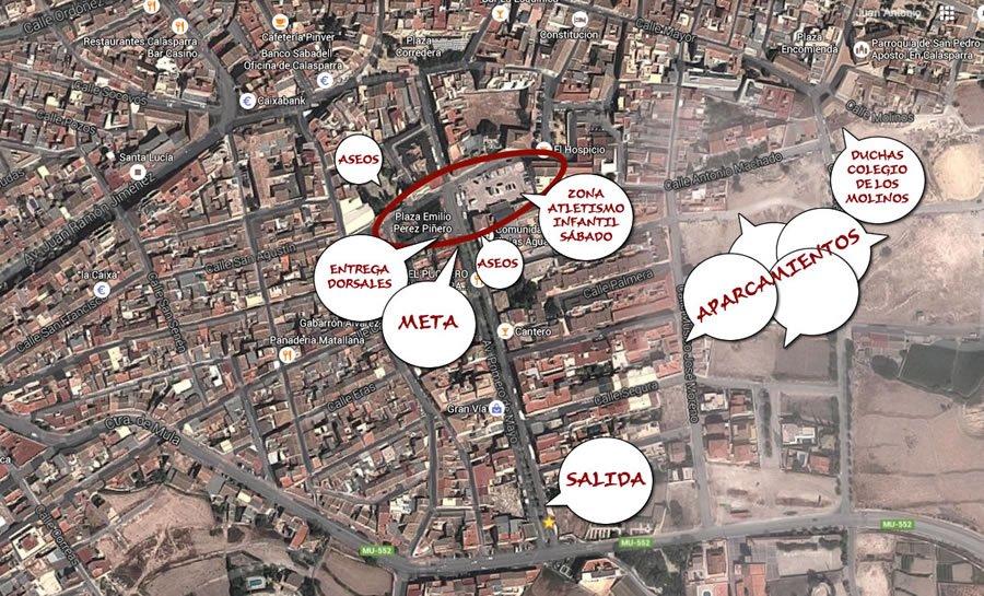 Plano Servicios Y Localización En Meta