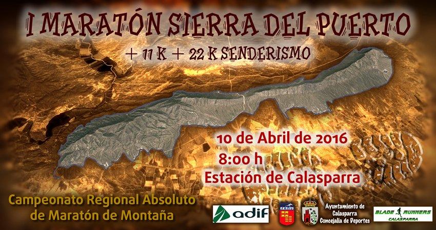 Cartel Maraton Sierra Del Puerto Web