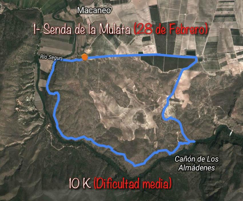 Ruta 1- Senda De La Mulata (28 De Febrero) – Abiertas Inscripciones