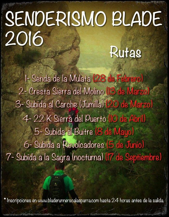 Senderismo Blade 2016 peq