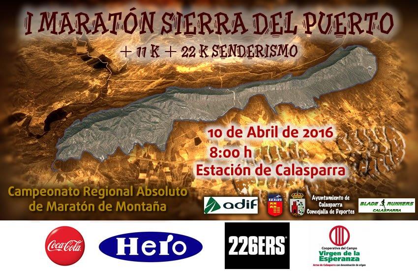 Cartel Maraton Sierra Del Puerto Con Faldon Web