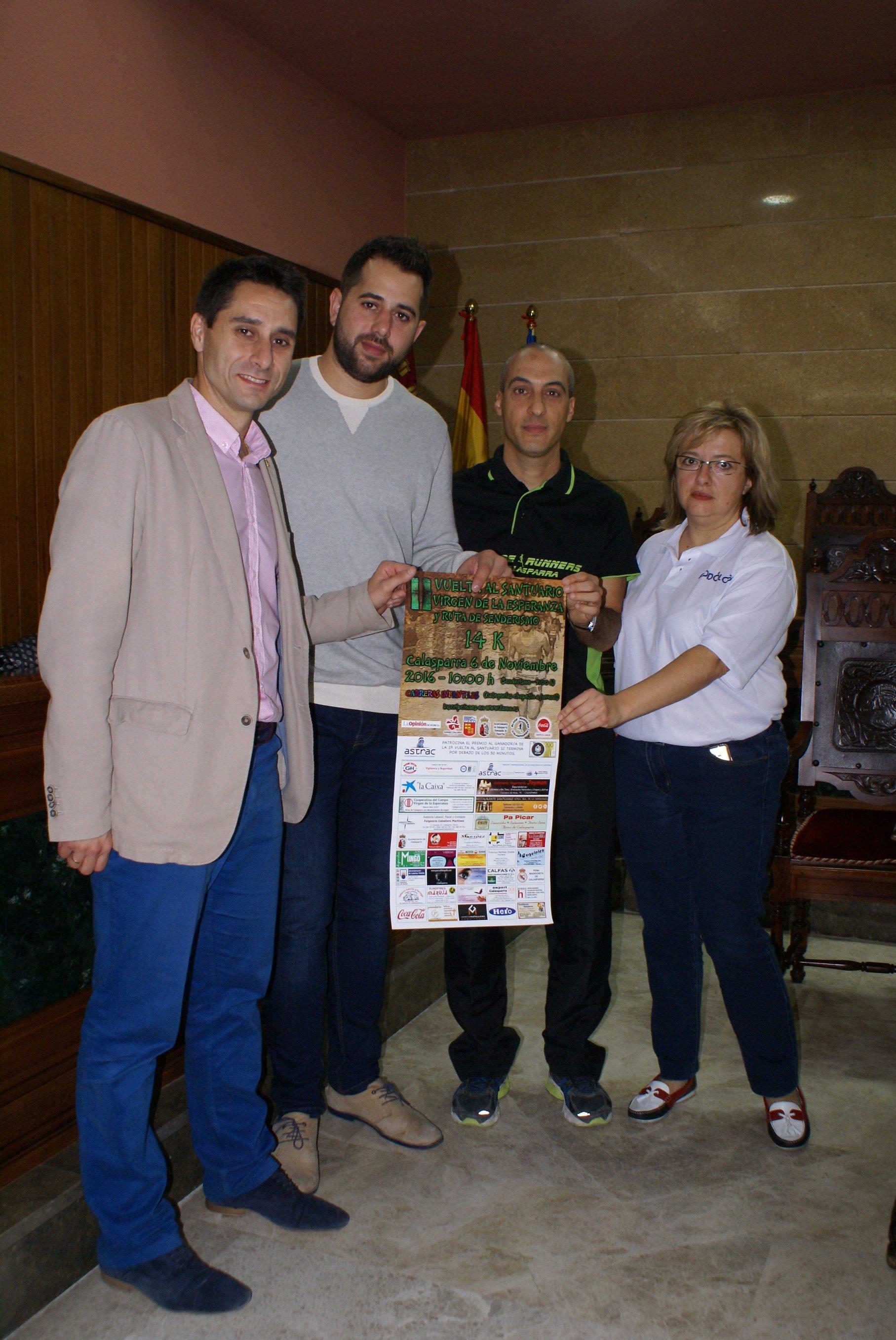 Presentación Oficial 2ª Vuelta Al Santuario