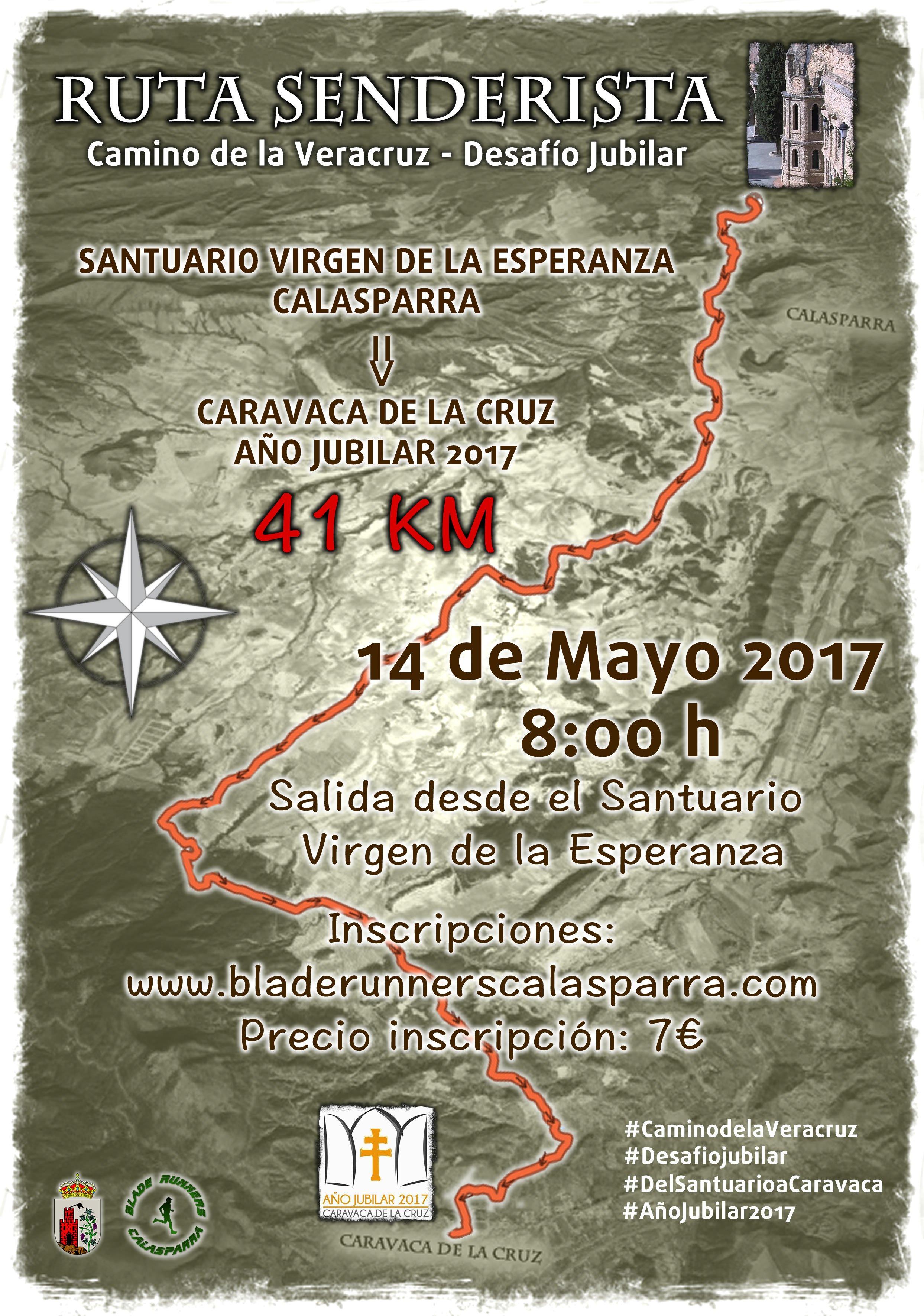 Ruta De Senderismo Santuario – Caravaca Jubilar 2017