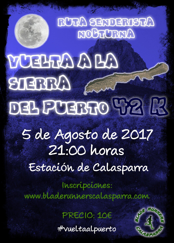 Ruta Senderista Nocturna – Vuelta A La Sierra Del Puerto 42K