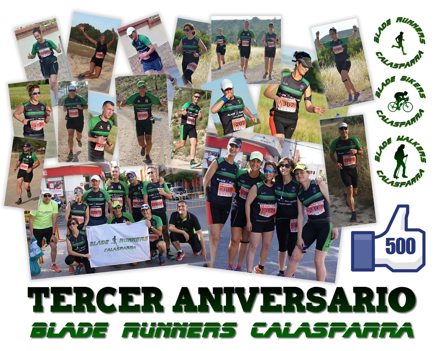 TERCER ANIVERSARIO BLADE RUNNERS CALASPARRA – Media Maratón De Béjar