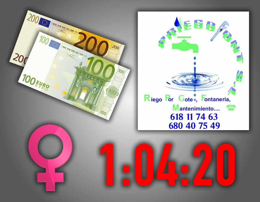 300 Euros Femenino