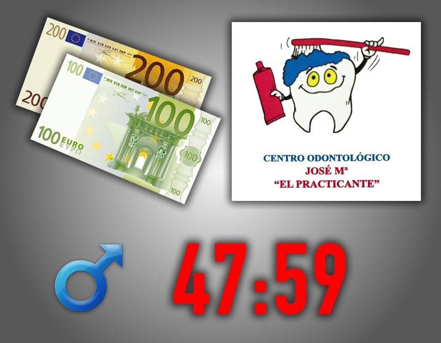 300 Euros Masculino