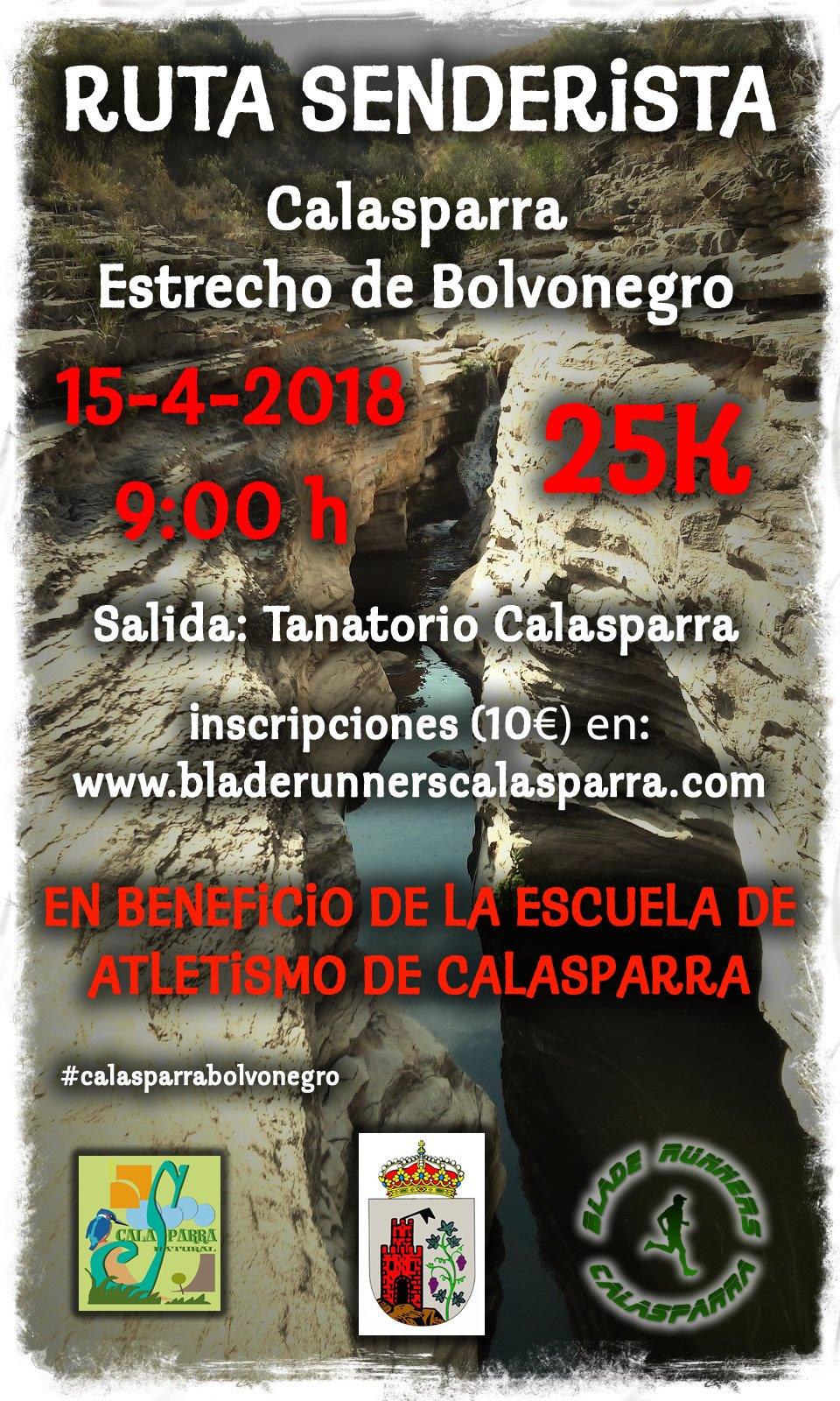 Ruta Senderista De Calasparra Al Estrecho De Bolvonegro (25 Km)