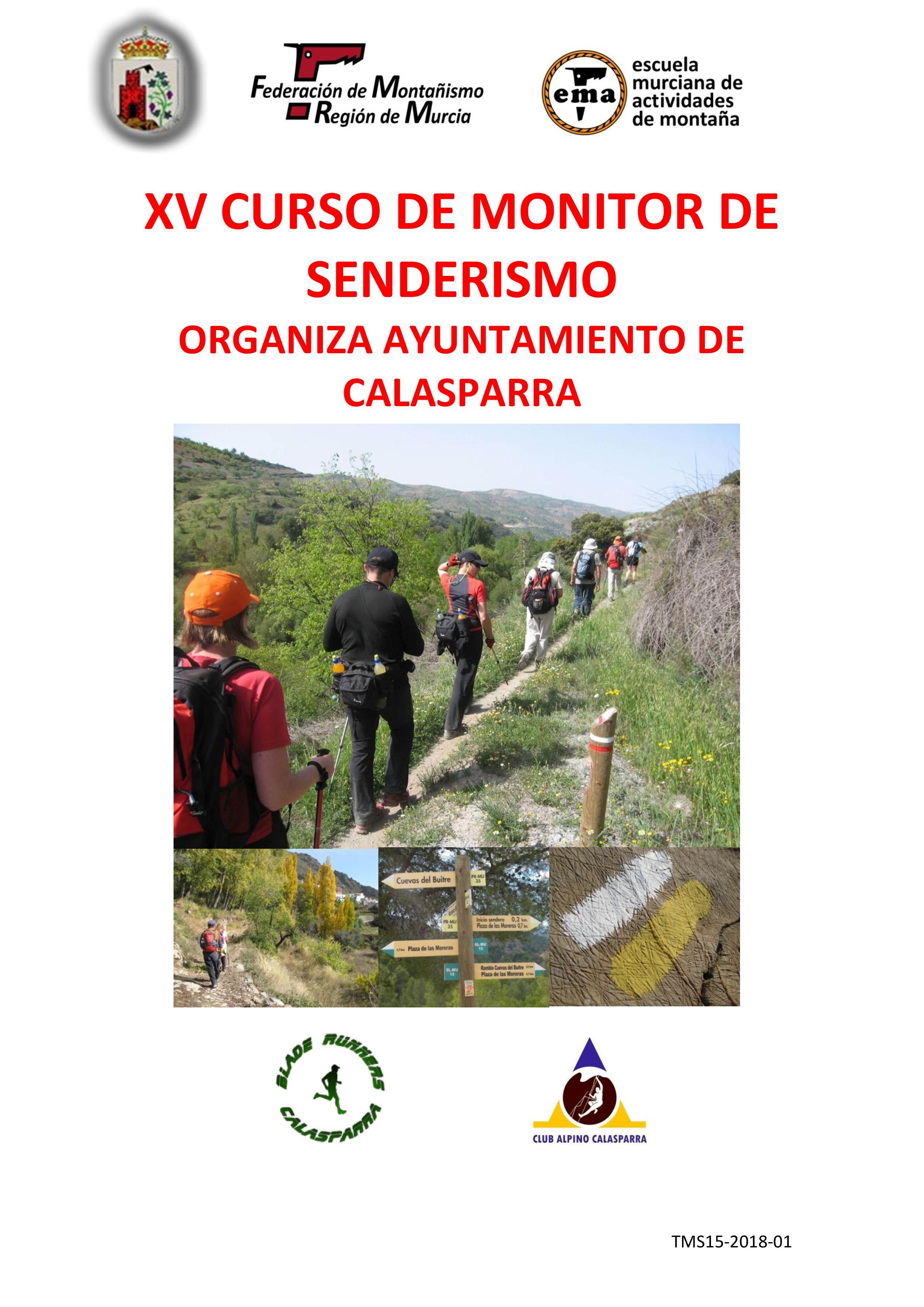 XV Curso De Monitor De Senderismo