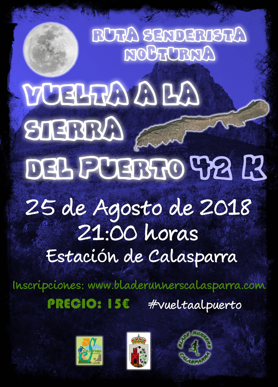 Ruta Senderista Nocturna – 2ª Vuelta A La Sierra Del Puerto ( 42K )