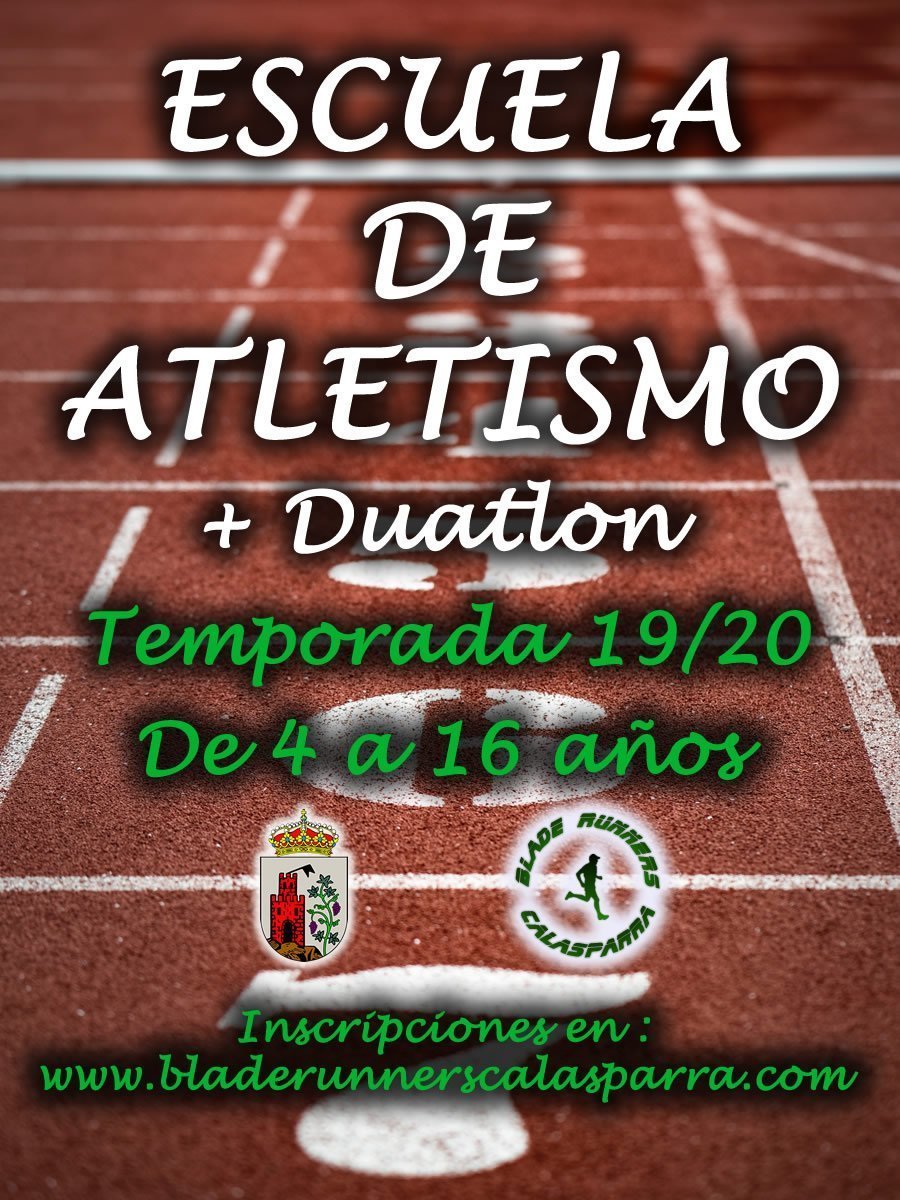 Cartel Escuela Atletismo Final