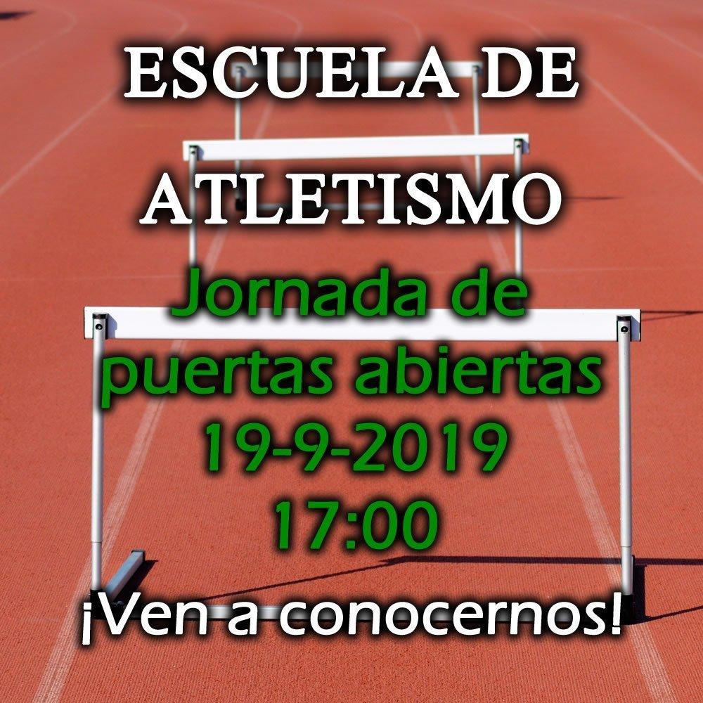 Escuela De Atletismo – Jornada De Puertas Abiertas