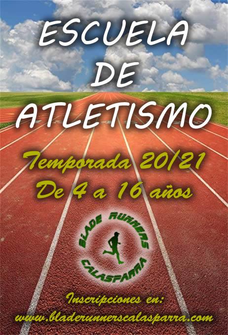 Cartel Escuela De Atletismo 20 21