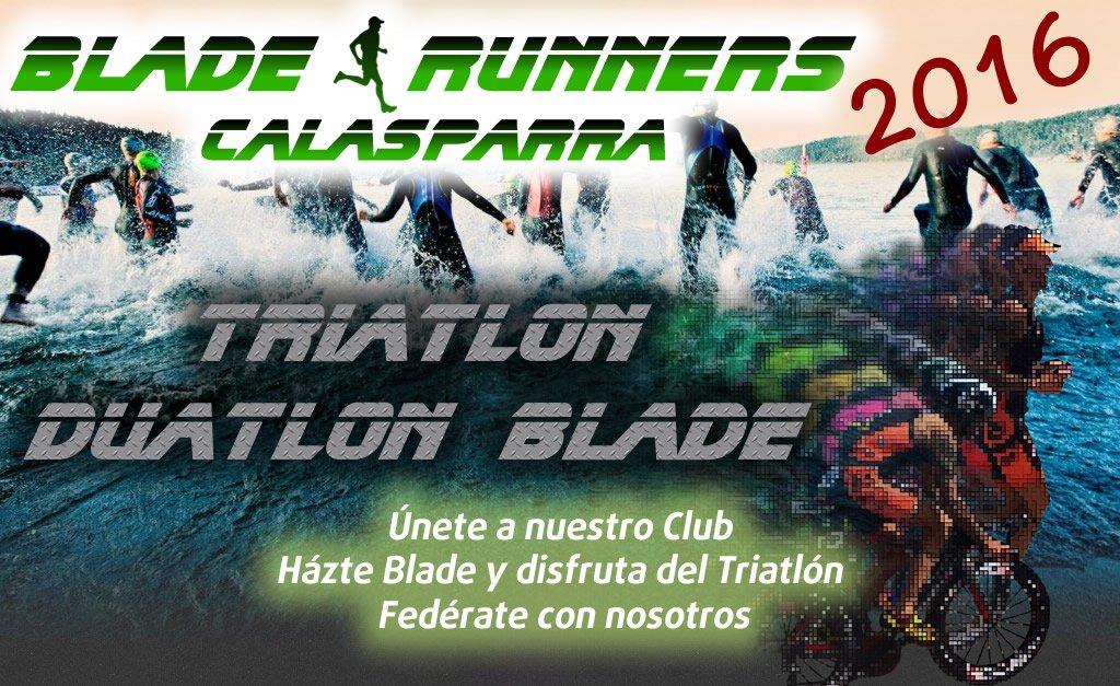 Promocion Triatlon Blade