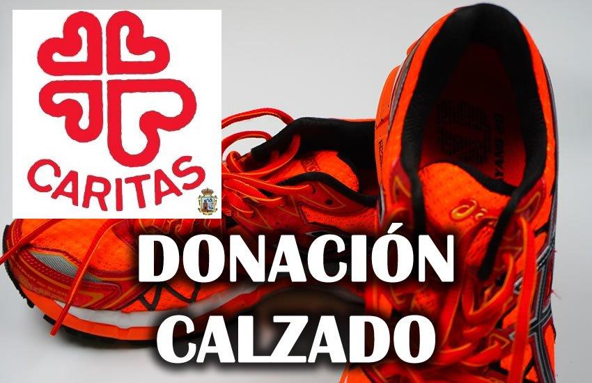 Donación De Calzado Deportivo A Cáritas – II Vuelta Al Santuario