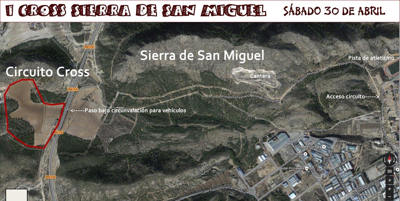 Plano Cross Sierra De San Miguel