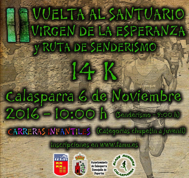 Cartel 2ª Vuelta Al Santuario Sin Challenge