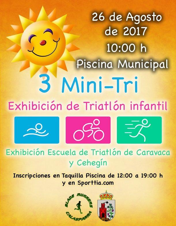 III Mini-Tri – Exhibición De Triatlón Infantil