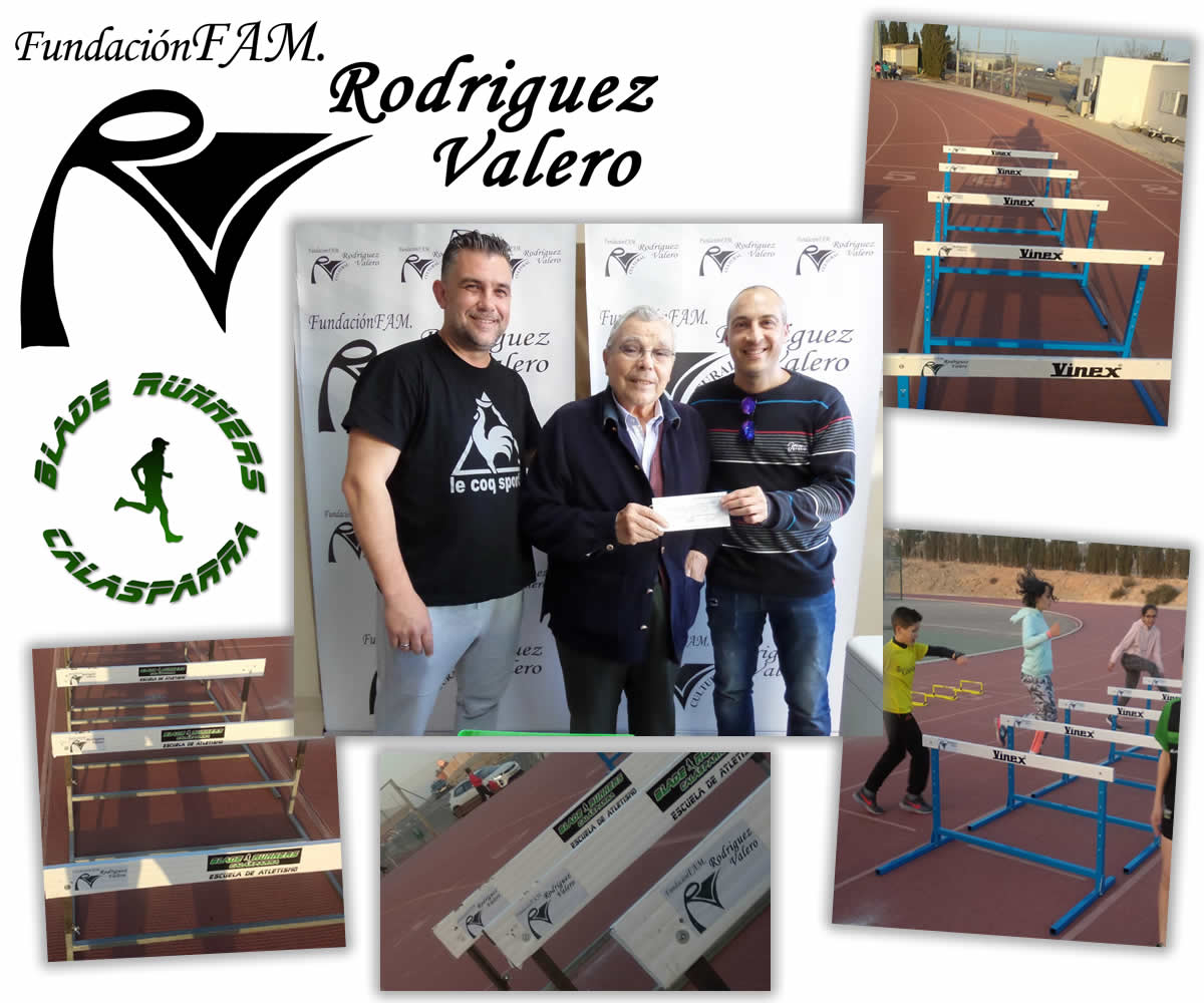 Fundación Fam. Rodríguez Valero Apoyando A La Escuela De Atletismo