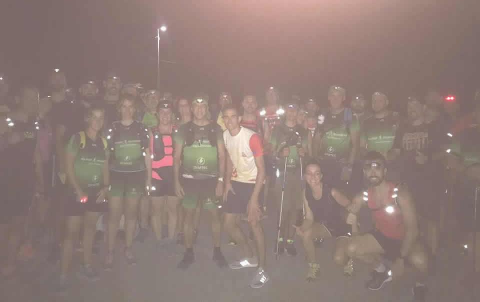 Vuelta Nocturna De Récord A La Sierra Del Puerto.