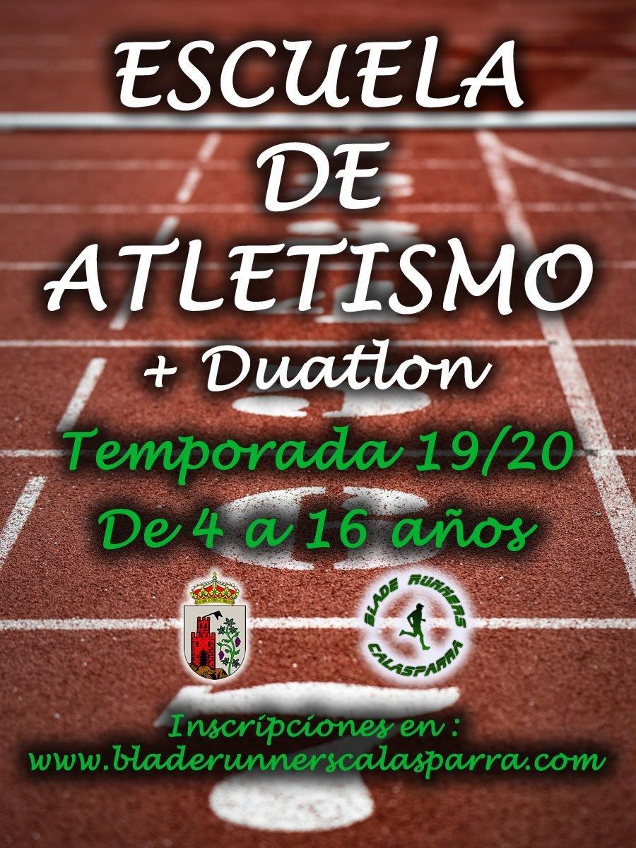 Escuela De Atletismo/Duatlon 2019-2020 ¡Inscripciones Abiertas!