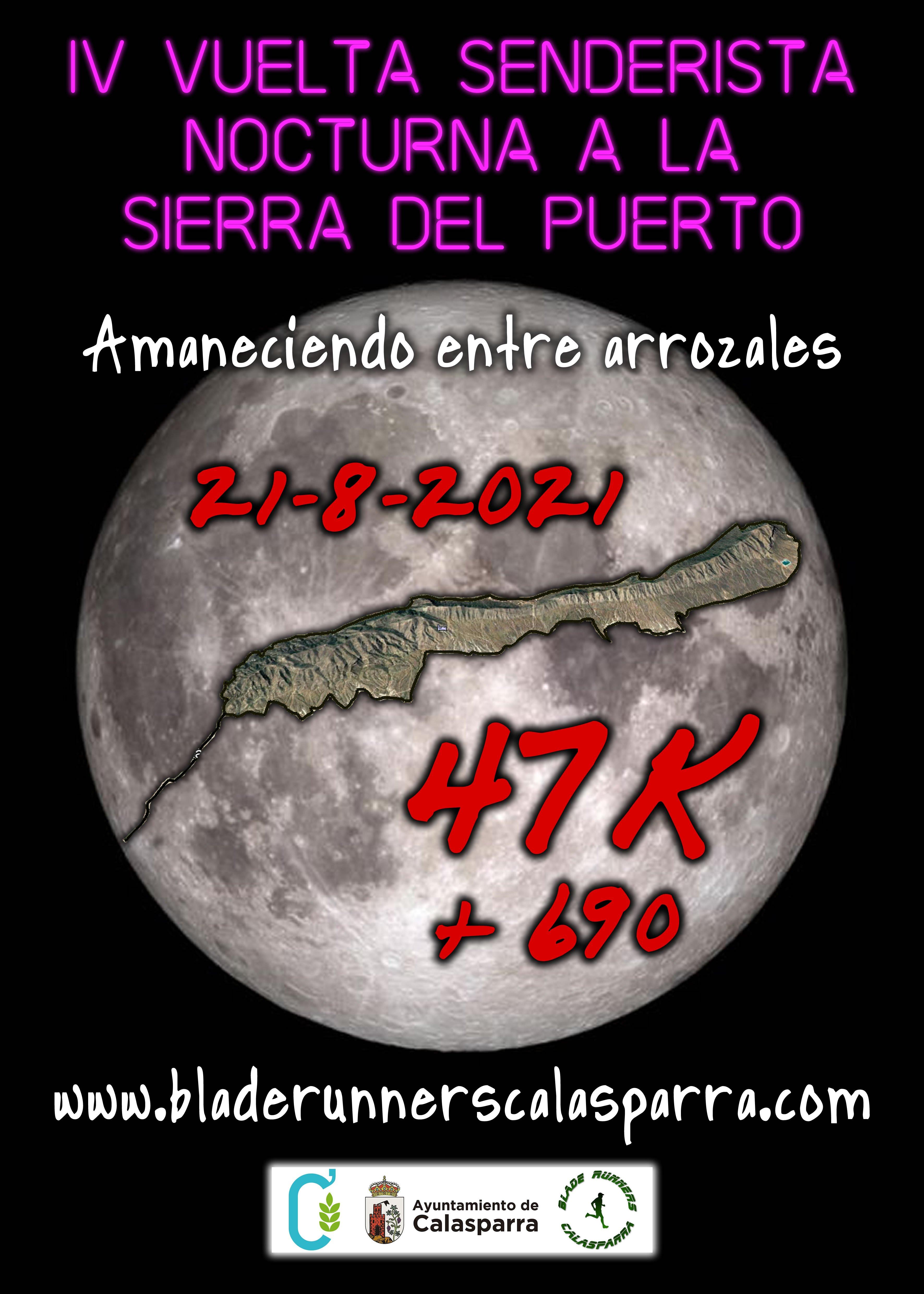 Cartel IV Vuelta Nocturna Al Puerto